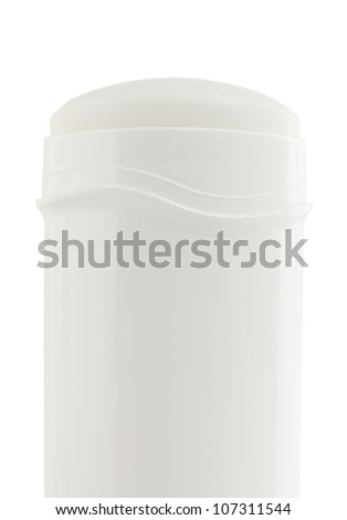 deodorant isolated on white