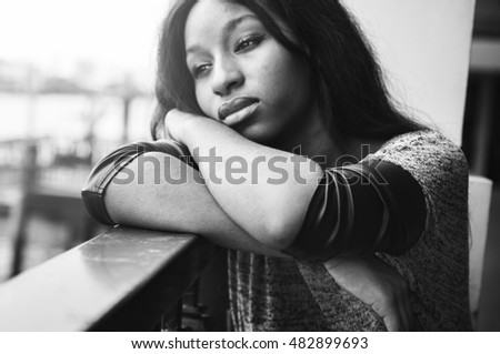 Image result for black womanlooking sad and distraught