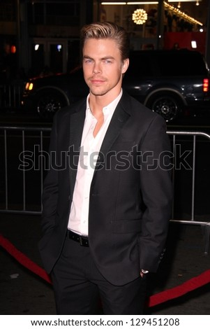 "Derek Hough at the ""Safe Haven"" Premiere, Chinese Theater, Hollywood, CA 02-05-13"