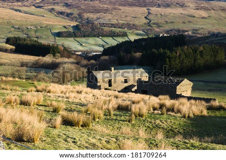 Derelict building in Swaledale