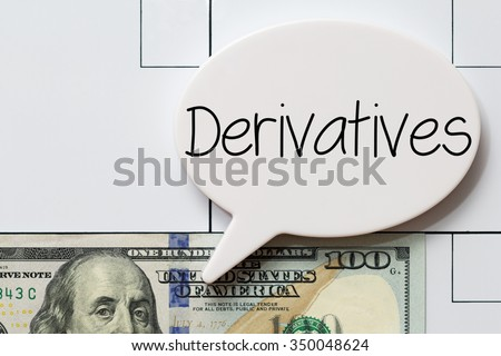 Derivatives - stock photo