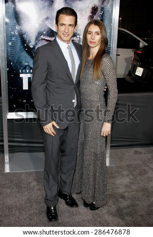Dermot Mulroney at the Los Angeles premiere of 'The Grey' held at the Regal Cinemas L.A. Live in Los Angeles on January 11, 2012.