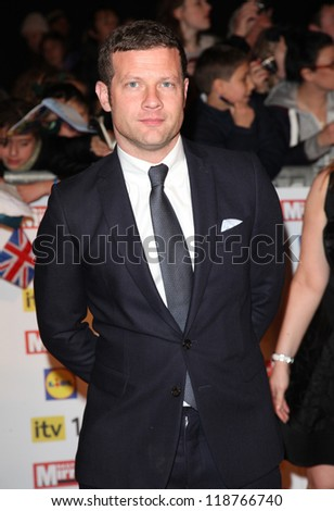 Dermot O'Leary arriving for the 2012 Pride of Britain Awards, at the Grosvenor House Hotel, London. 29/10/2012 Picture by: Alexandra Glen