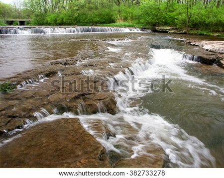 Des Plaines Conservation Area in Illinois - stock photo