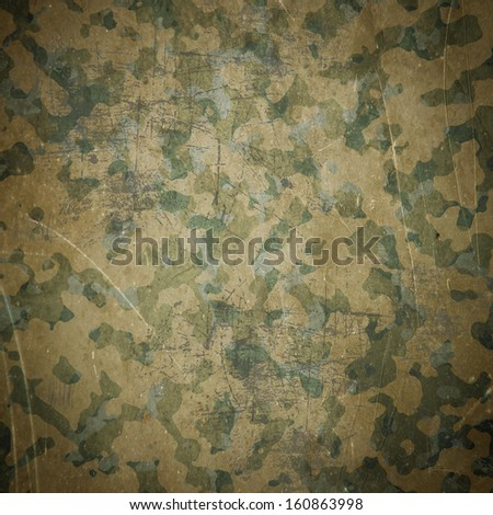 Desert army camouflage background - stock photo