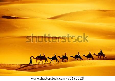 Desert Caravan | www.pixshark.com - Images Galleries With ...