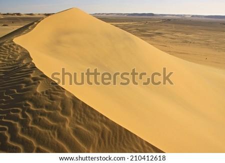 desert in Egypt - stock photo