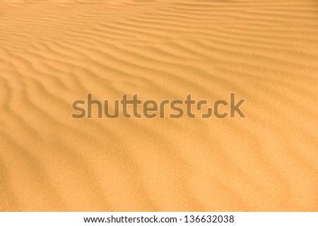 Desert sand - stock photo