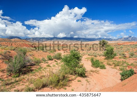 Desert view of central Utah