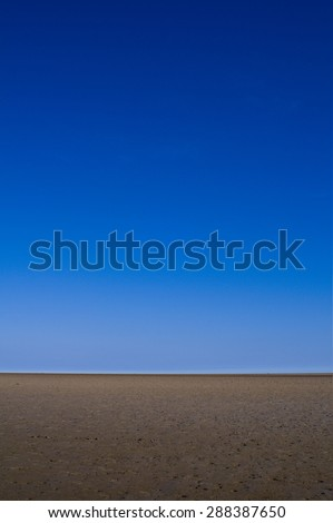 Deserted Coastal Landscape - stock photo