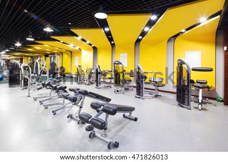 gym interior stock images royalty free images vectors shutterstock. Black Bedroom Furniture Sets. Home Design Ideas