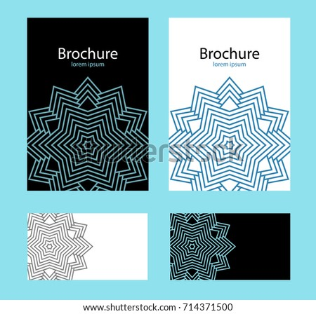 Design cover brochure business card templates stock illustration design cover brochure and business card templates layout for annual report book cover cheaphphosting Images