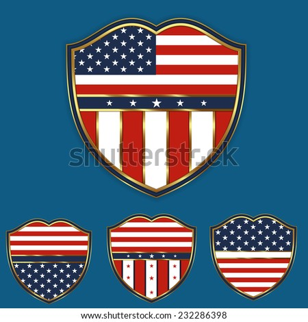 Design Element for  4th of July independence day and other usa national celebrations.