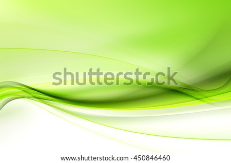 Design Elements For Card Website Wallpaper Presentation Green Modern Bright Waves Art