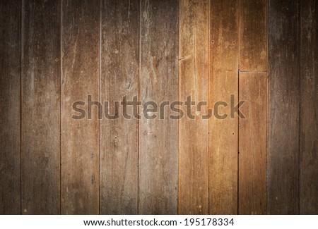 design of vintage wood texture background - stock photo