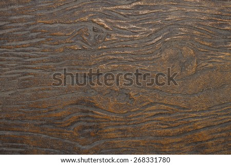 Design on cement and concrete wall for pattern - stock photo