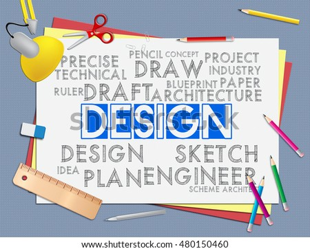 Design words meaning development creativity creation stock design words meaning development creativity and creation malvernweather Choice Image