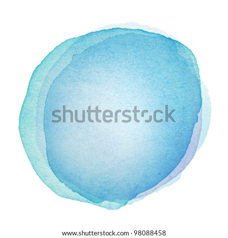Designed abstract watercolor background, design element. - stock photo