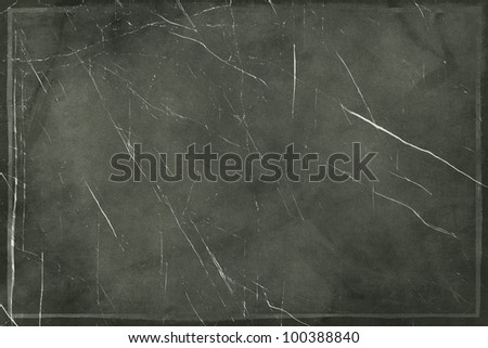 Designed  grunge black wall texture - stock photo