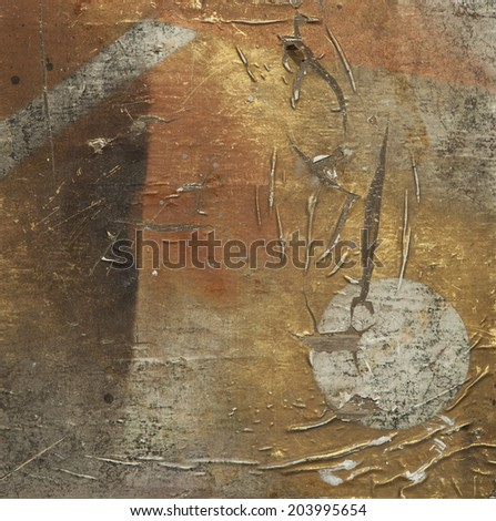 Designed grunge paper and wooden texture, background