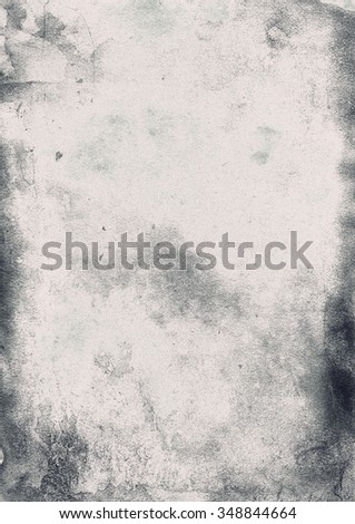 Designed grunge paper texture, background with space for text or image. Artistic style for your design - stock photo