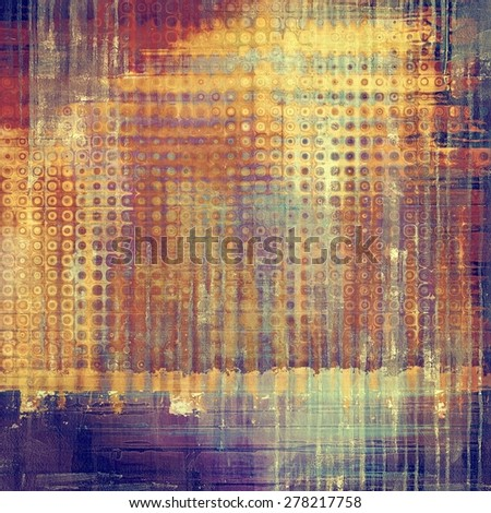 Designed grunge texture or retro background. With different color patterns: yellow (beige); brown; gray; purple (violet) - stock photo