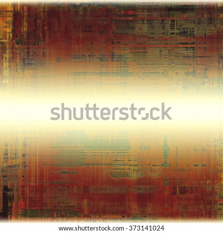Designed grunge texture or retro background. With different color patterns: yellow (beige); brown; white; red (orange); gray - stock photo