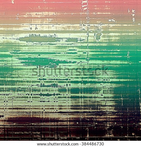 Designed grunge texture or retro background. With different color patterns: yellow (beige); brown; green; purple (violet); pink - stock photo