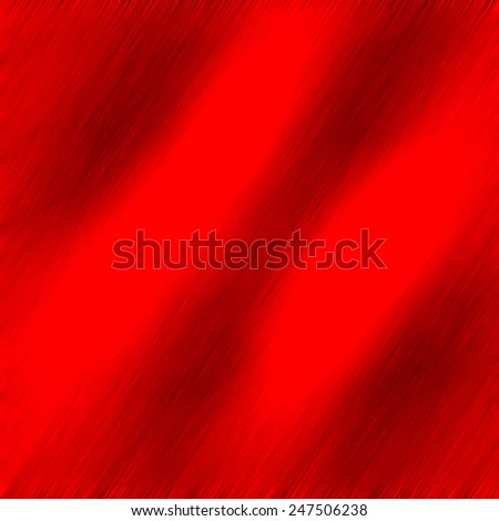 Designer image feed of metal brushed  panel, with dimmed regions and red color burning hot iron background - stock photo