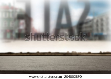 desk of sale  - stock photo