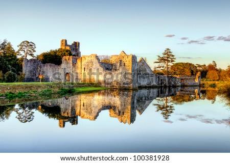 Desmond Castle in Adare Co.Limerick - Ireland. - stock photo