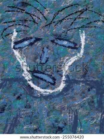 Despair Face - stock photo