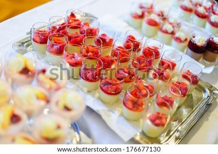 Dessert Buffet - stock photo