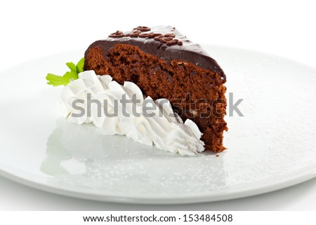 Dessert - Chocolate Cake - stock photo