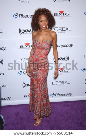 Destiny's Child singer MICHELLE WILLIAMS at music mogul Clive Davis' annual pre-Grammy party at the Beverly Hilton Hotel. February 7, 2006  Beverly Hills, CA  2006 Paul Smith / Featureflash - stock photo