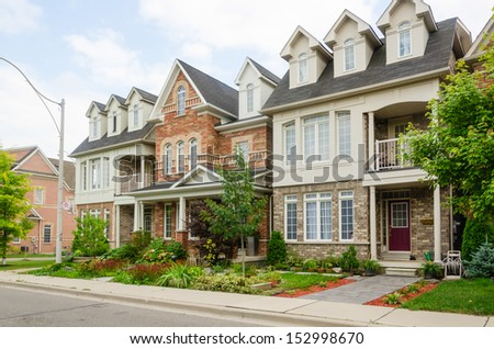 Townhome Building Stock Photos Images Pictures