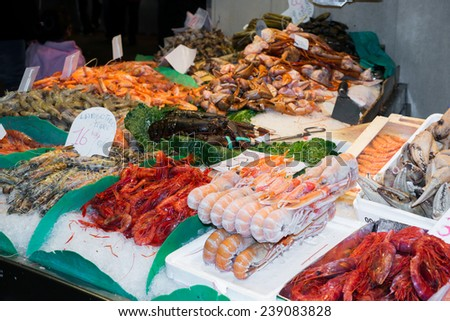 Detail Fish and seafood prepared for sale