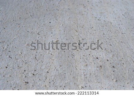 Detail of a concrete texture in perspective - stock photo