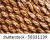 Detail of a knitting basket - stock photo