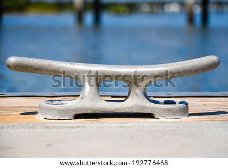 detail of a sailboat - stock photo