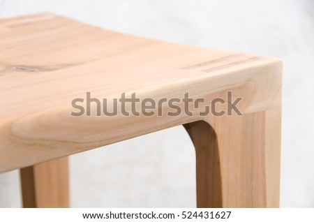 wood used for furniture. plain for detail of a wooden glued joint chairs leg material used for the stool throughout wood used for furniture