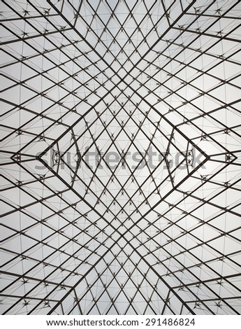 Detail of Abstract Pattern of geometric lines and shapes - stock photo