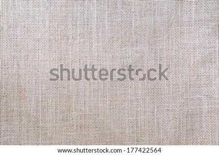 Detail of burlap fabric to use as texture or background. - stock photo