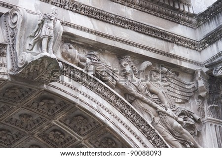 Baroque Church Holy Cross Lecce Italy Stock Photo ...