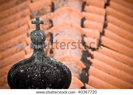 Detail of Church - stock photo
