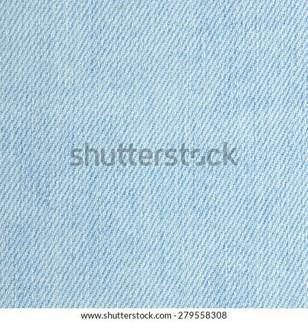 Detail of denim jean texture and seamless background - stock photo