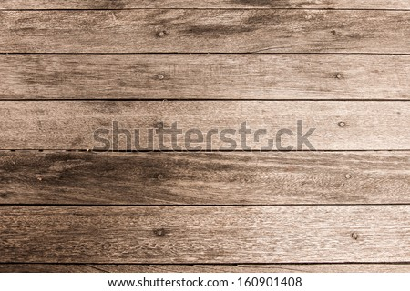detail of grunge wood floor as background - stock photo