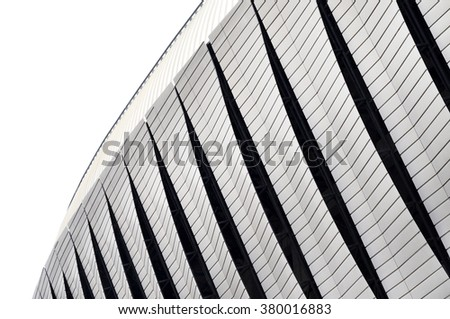 Detail of modern architecture. Architecture pattern