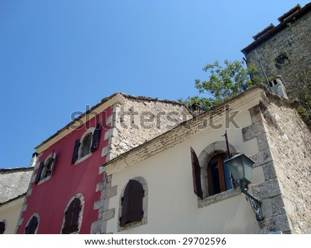 Detail of Mostar old town, Bosnia and Herzegovina