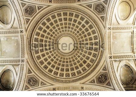 Detail of Pantheon - stock photo